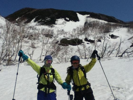 スキーハイキング